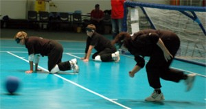 Participantes en Goalball
