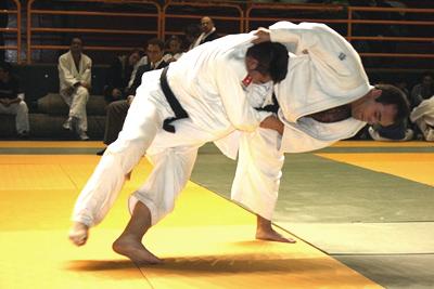 Invidentes compiten en Judo