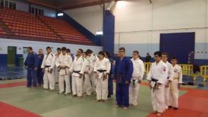 Participantes en el Campeonato de España de judo para Ciegos y Deficientes Visuales