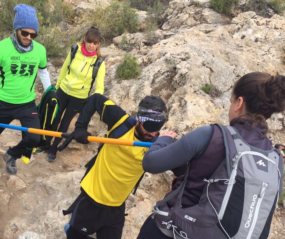 Los participantes en Sierra Nevada