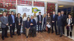 Homenaje a los deportistas olímpicos y paralímpicos en Río 2016 del Club Náutico Sevilla. / Foto: Juan José Ubeda