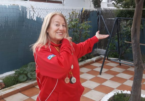 Rosa Isabel, cinco veces campeona de Andalucía en tiro con carabina