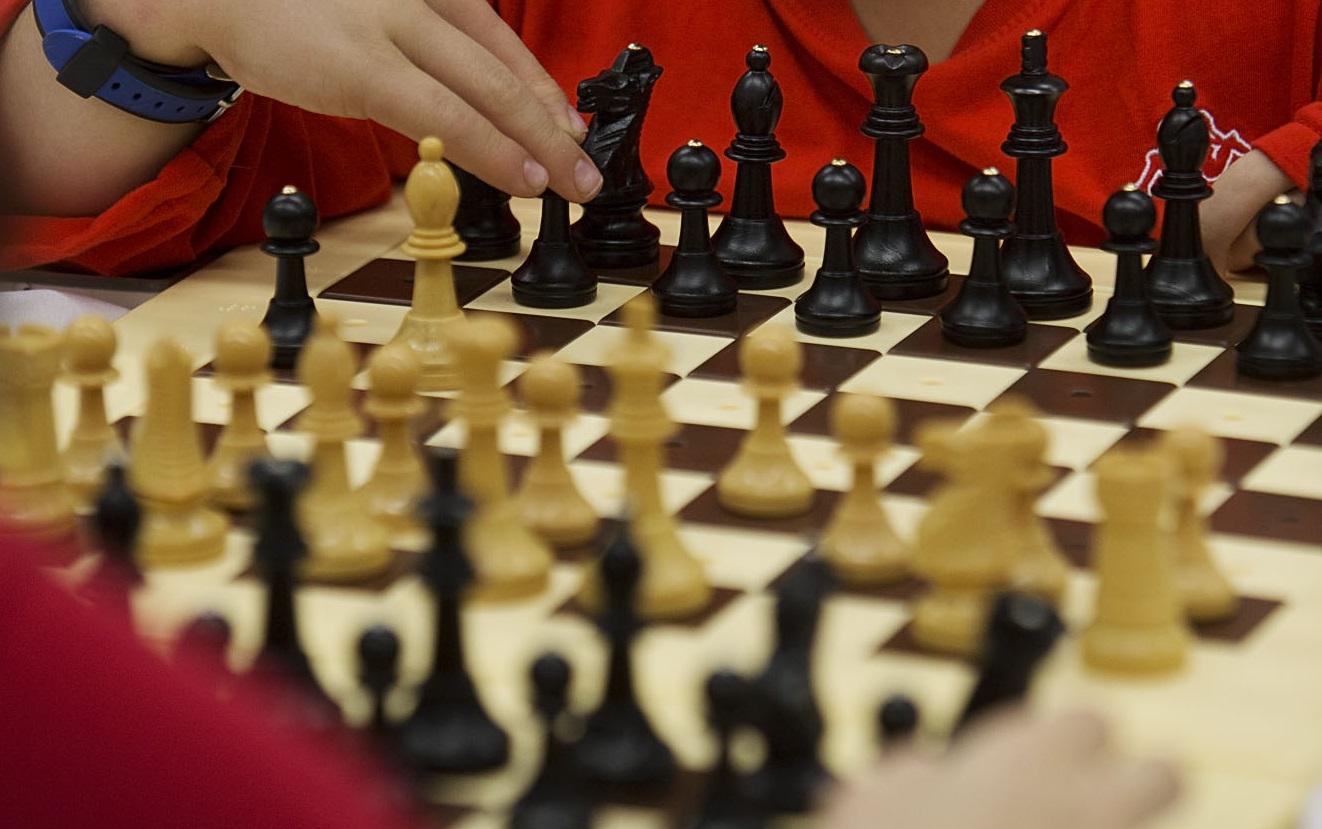Tablero de ajedrez durante anteriores ediciones.