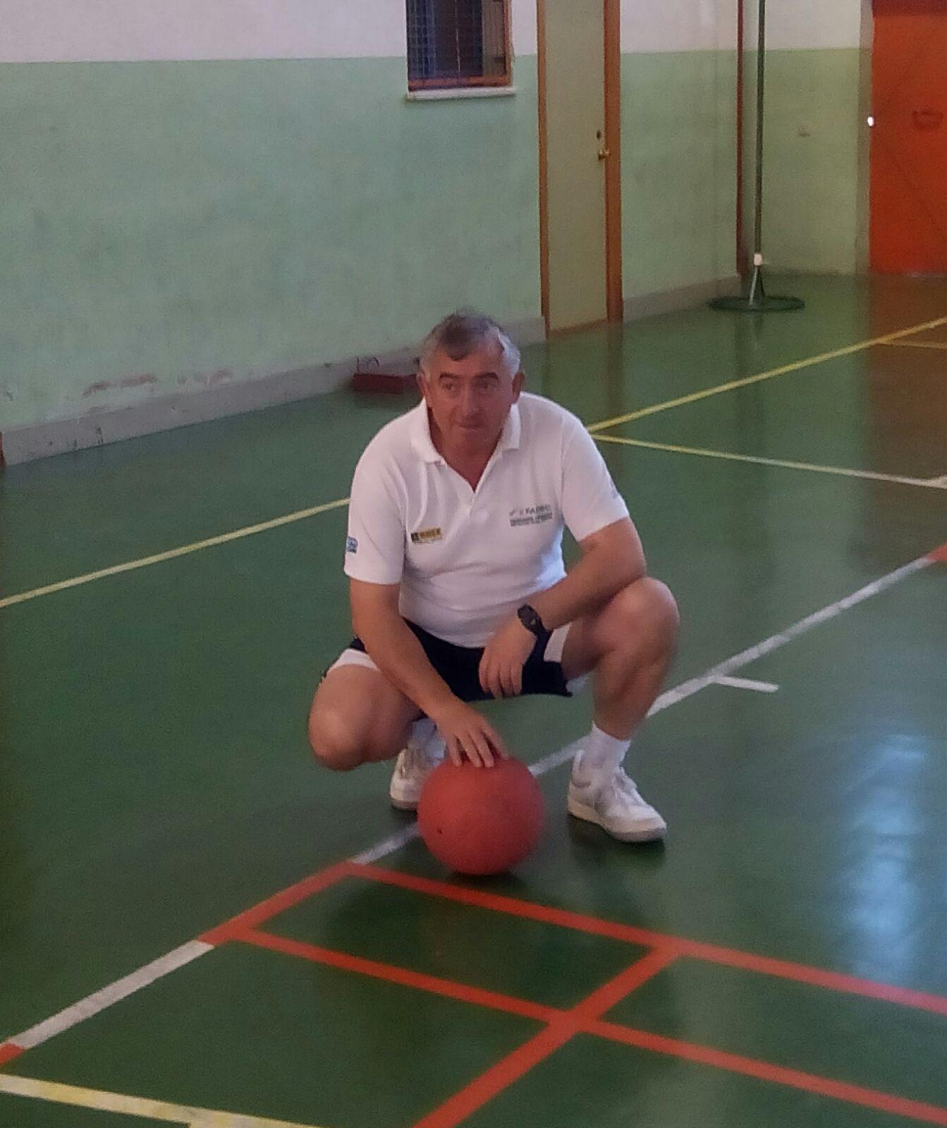 Pedro Ramírez, entrenador y ex-jugador de Goalball