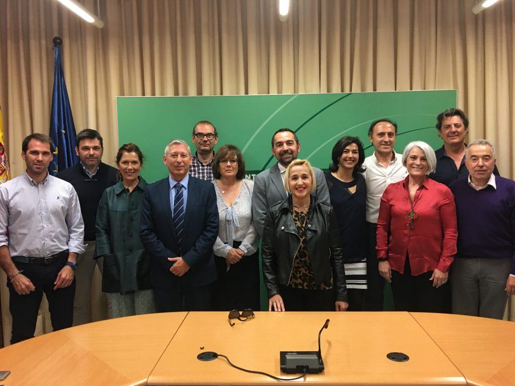 El vicepresidente de la FADEC, José Antonio Toledo, participó en la reunión del jurado
