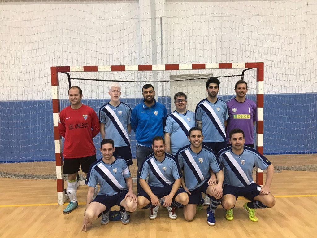 Imagen del equipo del Málaga B2