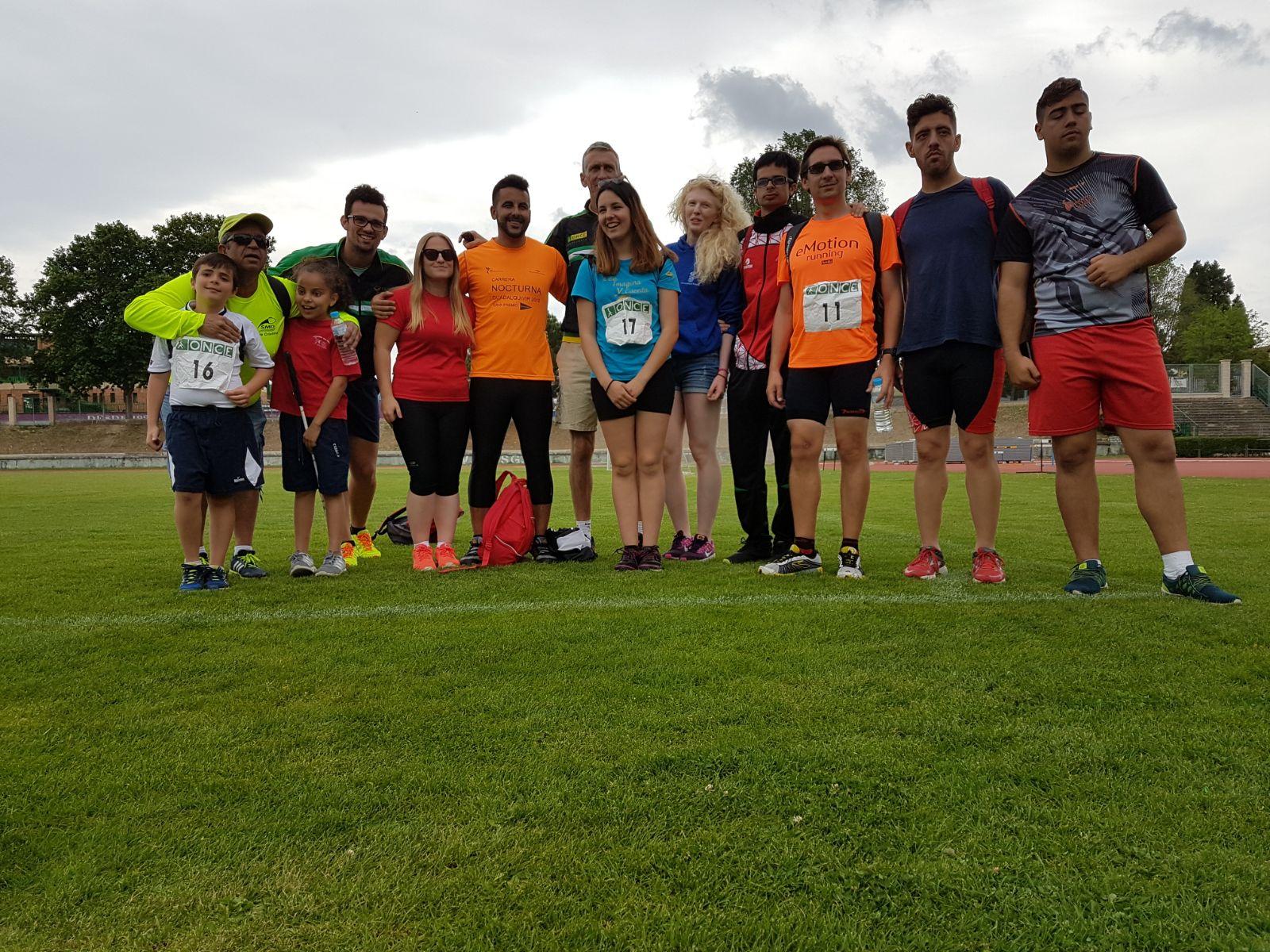 Foto de familia de los participantes andaluces en Segovia