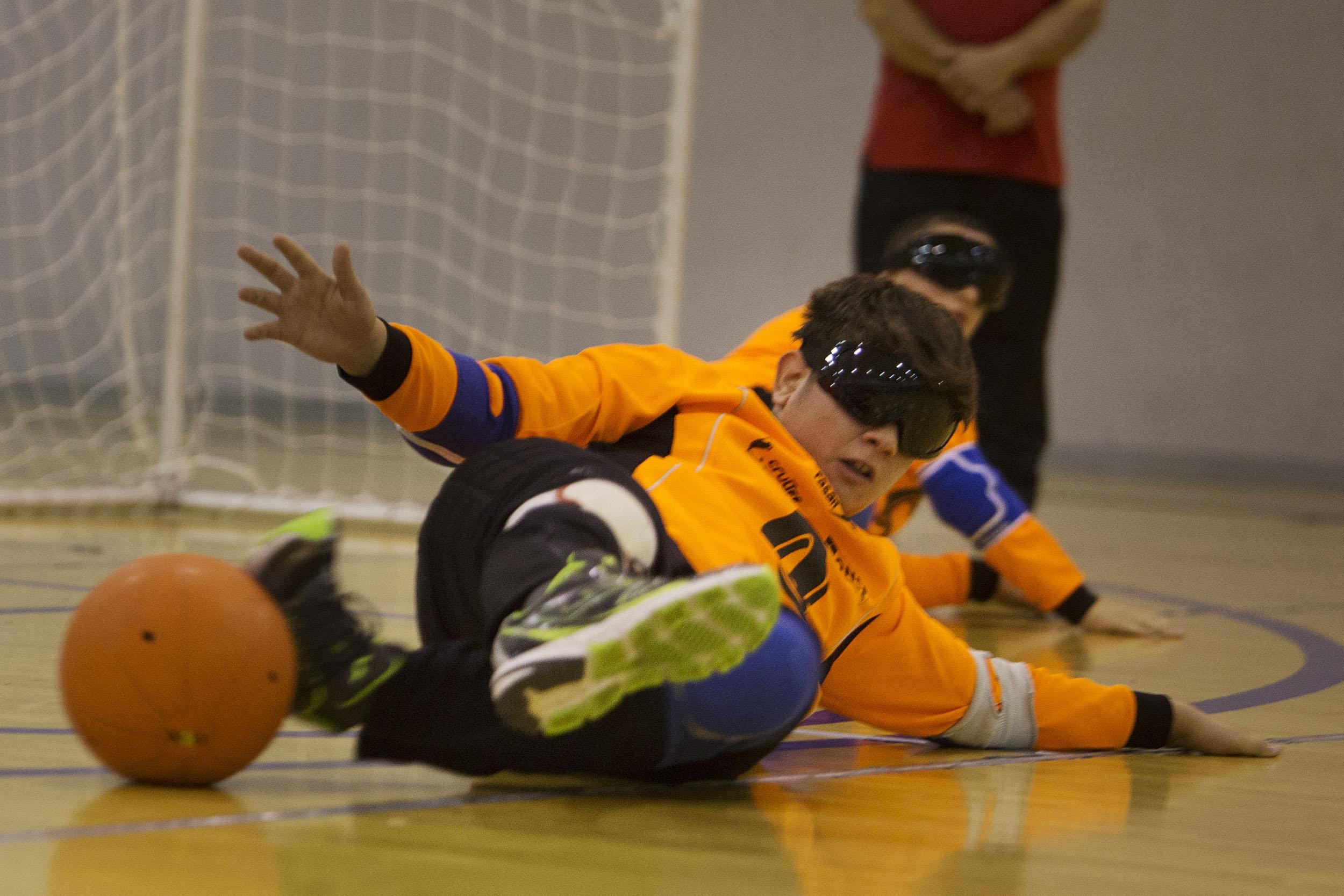 El CRE de Sevilla volverá a acoger un campeonato de Goalball de Andalucía