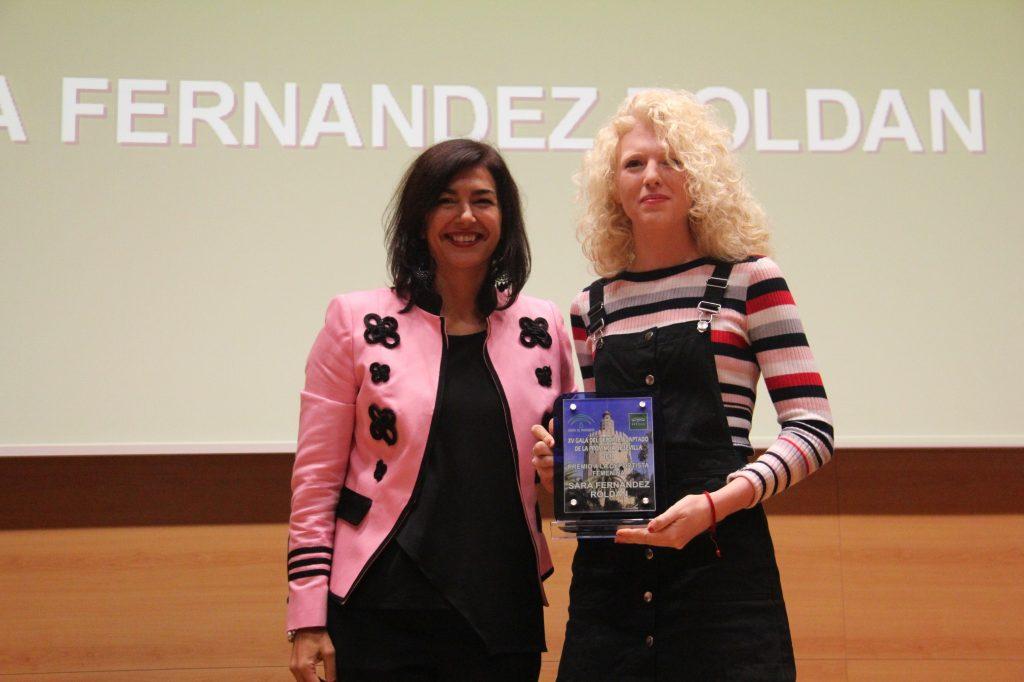 Sara Fernández suma un nuevo reconocimiento a su trayectoria deportiva