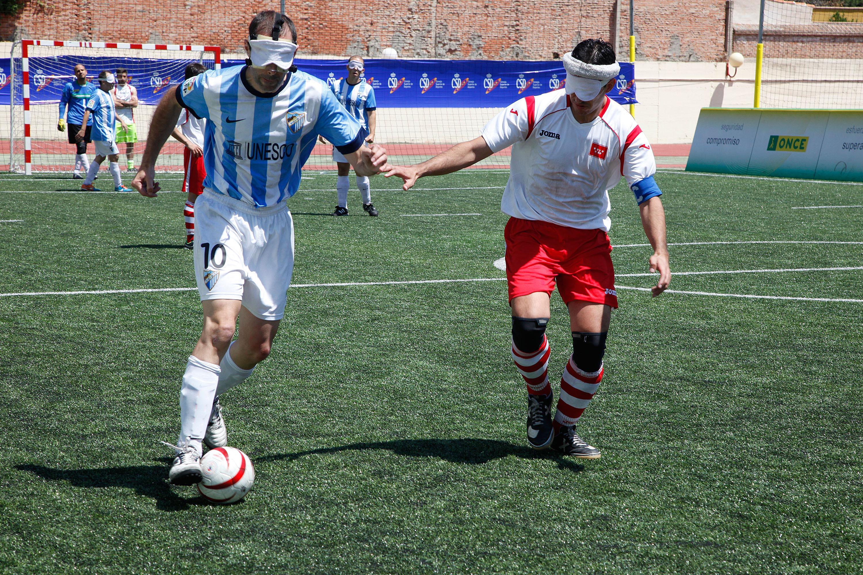 Jugada del equipo de Málaga