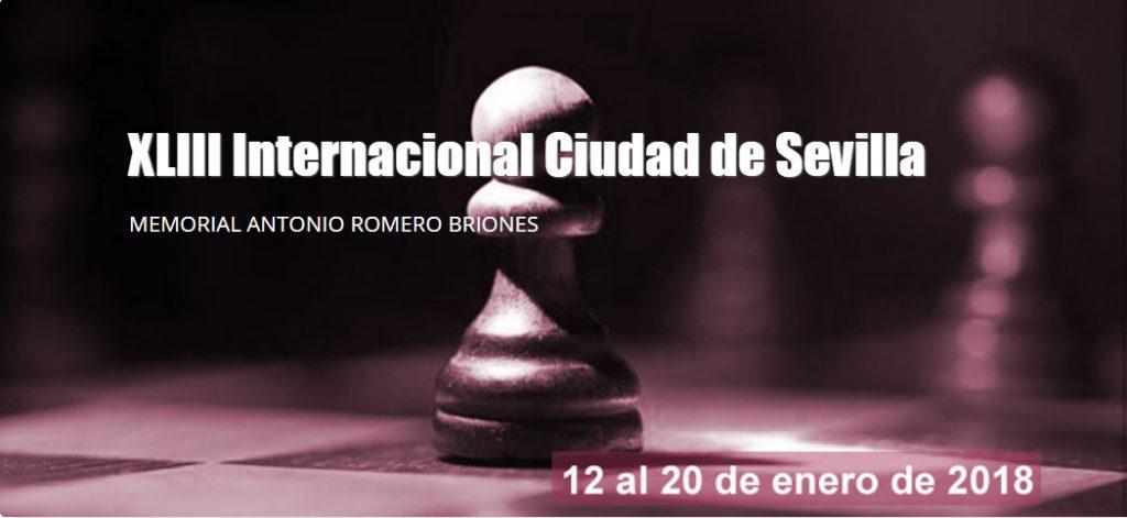 Imagen del cartel del Open de Sevilla