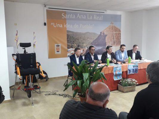 Presentación de las Jornadas de Montañismo en Santa Ana la Real