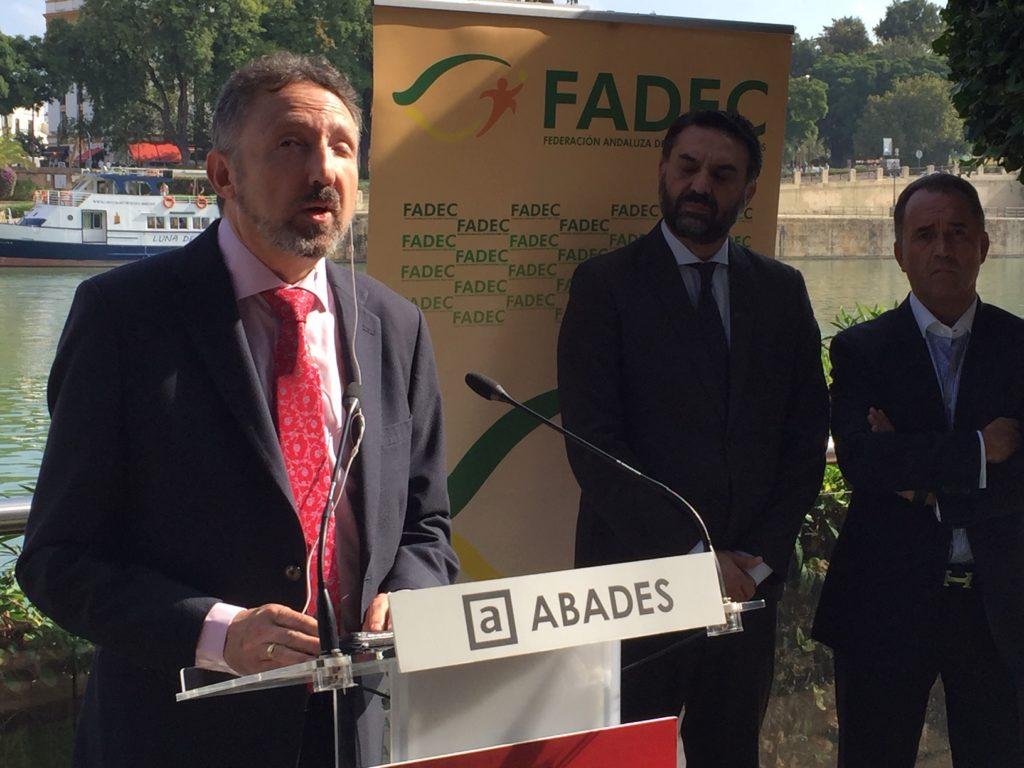 Intervención del presidente de la FADEC, Cristóbal Martínez