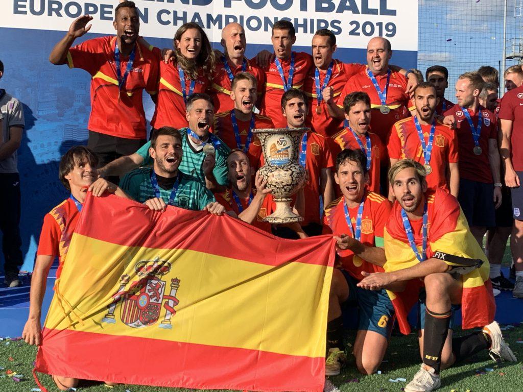 Triunfo total de la selección española