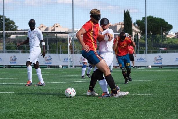 Una imagen de la final entre España y Francia