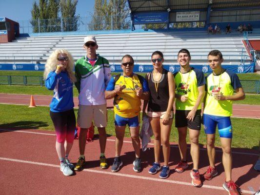 Los atletas andaluces en el Campeonato de Fuenlabrada